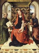 The Virgin and Child Enthroned with Saints Peter and Paul Dieric Bouts