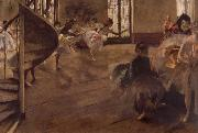 Balletrepetitie Edgar Degas