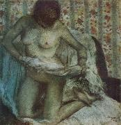 After the Bath Edgar Degas