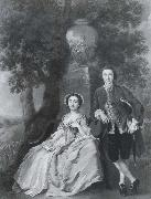 Portrait of Mr and Mrs George Rogers Francis Hayman