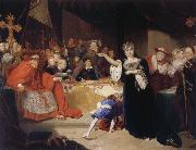The Court for the Trial of Queen Katharine George Henry Harlow