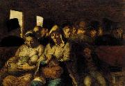 The Third-class Carriage Honore  Daumier