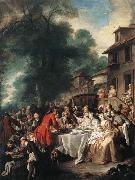 A Hunting Meal Francois de Troy