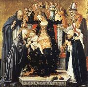 The Mystic Marriage of Saint Catherine of Siena Lorenzo di Alessandro da Sanseverino