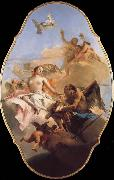 An Allegory with Venus and Time TIEPOLO, Giovanni Domenico