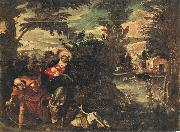 Flight into Egypt TINTORETTO, Jacopo
