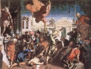 The Miracle of St Mark Freeing the Slave TINTORETTO, Jacopo