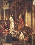 Christ before Pilate TINTORETTO, Jacopo