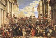 The Wedding Feast at Cana VERONESE (Paolo Caliari)