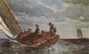Breezing Up Winslow Homer
