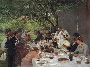 The wedding meal in Yport Albert Auguste Fourie