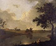 View of Tabley House,Cheshire Richard  Wilson