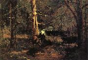 A Skirmish in the Wilderness Winslow Homer