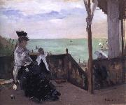 In a Villa at the Seaside Berthe Morisot