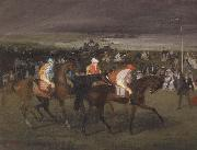 At the races The Start Edgar Degas