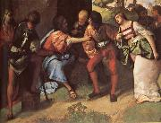 The Adulteress brought Before Christ Giorgione