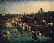 Geese Jean Francois Millet