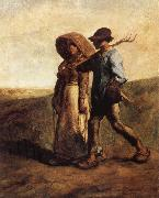 People go to work Jean Francois Millet