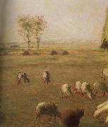 Detail of  Spring,haymow Jean Francois Millet