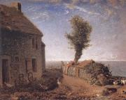 End of the Hamlet of Gruchy Jean Francois Millet