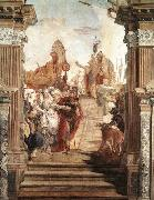 The Meeting of Anthony and Cleopatra TIEPOLO, Giovanni Domenico
