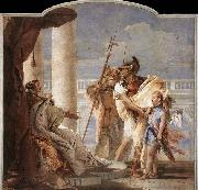Aeneas Introducing Cupid Dressed as Ascanius to Dido TIEPOLO, Giovanni Domenico