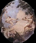 The Swing of Pulcinella TIEPOLO, Giovanni Domenico