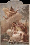 Mercury Appearing to Aeneas TIEPOLO, Giovanni Domenico