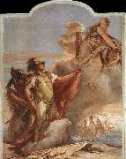 Venus Appearing to Aeneas on the Shores of Carthage TIEPOLO, Giovanni Domenico