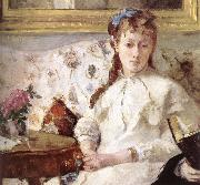 Detail of artist-s mother and his sister Berthe Morisot
