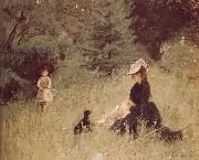 Meadow Berthe Morisot