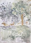 Carriage Berthe Morisot