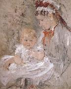 Juliy and biddy Berthe Morisot