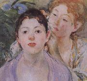 Detail of Embroider Berthe Morisot