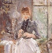 At the restaurant Berthe Morisot