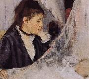 Detail of Cradle Berthe Morisot