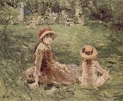 In the Moliketer-s garden Berthe Morisot