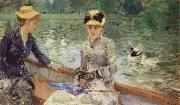 Summer day Berthe Morisot
