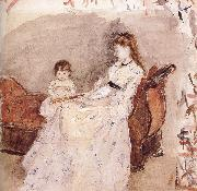 Ierma and her daughter Berthe Morisot