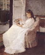 Artist-s sister beside the window Berthe Morisot