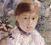 Detail of the  Woman near the window Berthe Morisot
