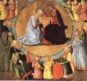 The Coronation of virgin Bicci, Neri di