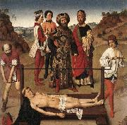 Martyrdom of St Erasmus Dieric Bouts