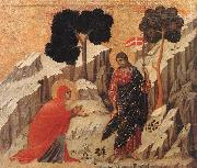 Appearence to Mary Magdalene Duccio