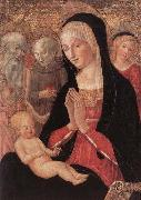 Madonna and Child with Saints and Angels Francesco di Giorgio Martini