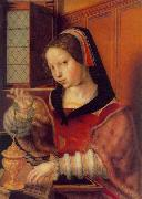 Woman Weighing Gold Jan Sanders van Hemessen