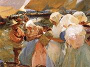 Selling the Cath at Valencia Joaquin Sorolla Y Bastida