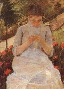 Being young girl who syr Mary Cassatt