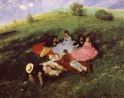 Luncheon on the Grass Merse, Pal Szinyei