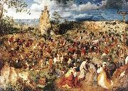 Christ Carrying the Cross Pieter Bruegel
